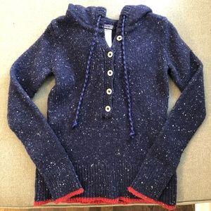 Patagonia Wool Sweater Hoodie